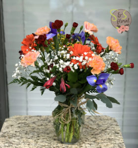 Just Because Flowers S&S Floral Kansas City Florist 1